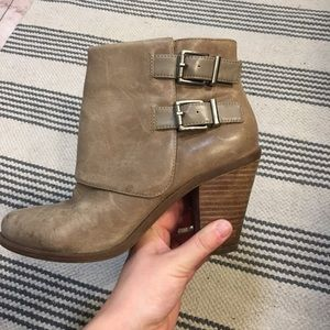 Jessica Simpson Cainn Leather Booties